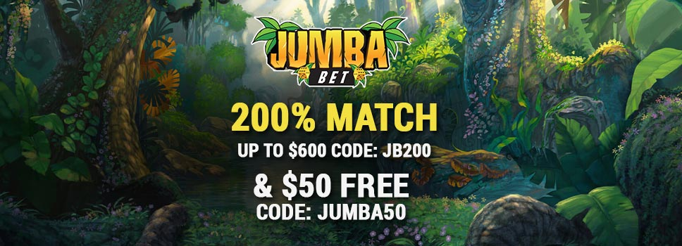 JumbaBet Casino New Player Bonus