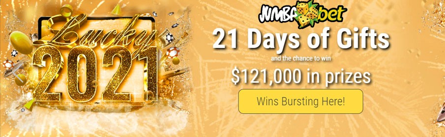 Jumba Bet Casino Lucky 2021 Promotion