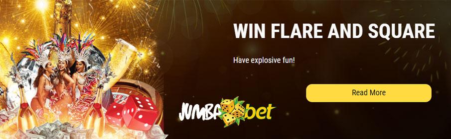 Jumba Bet casino Monthly Bonus