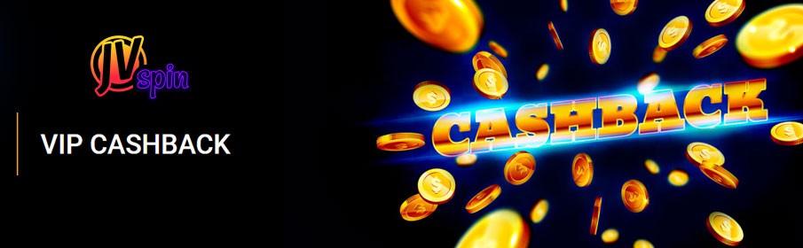JVSpin Casino VIP Cashback Program