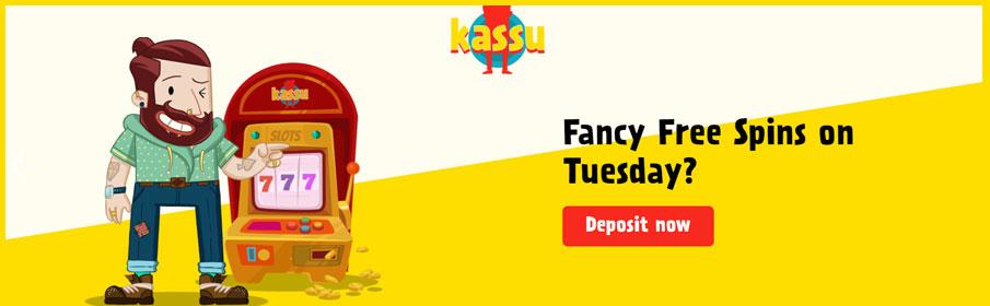 Kassu Casino Tuesday Bonus