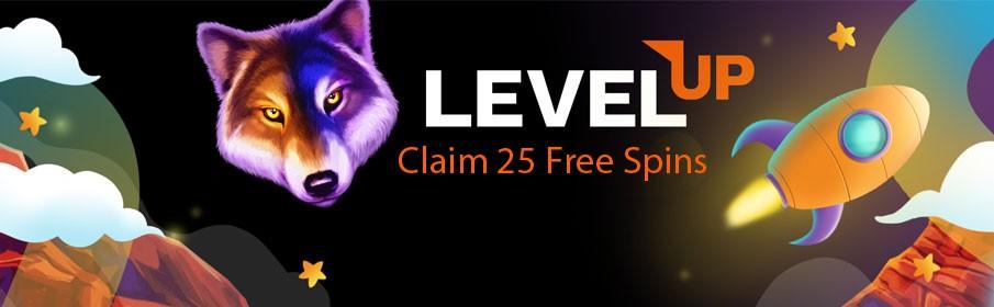 Level up Casino No Deposit Bonus