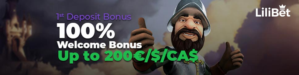 LiliBet Casino Welcome Offer