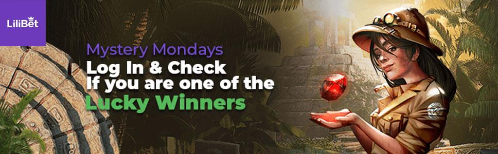 Lilibet Casino Mystery Monday Offer