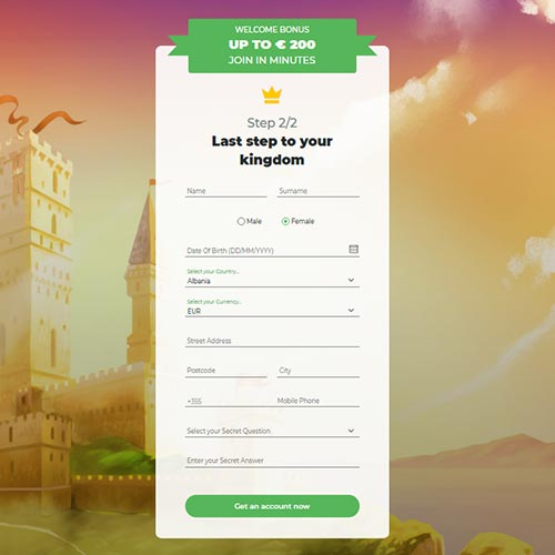 Lilibet casino Sign Up