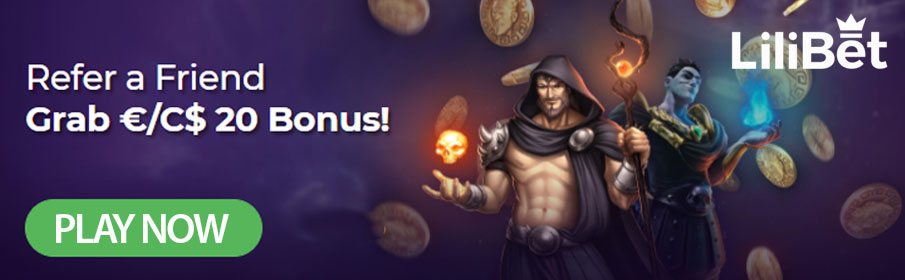 LiliBet Casino Refer a Friend Bonus