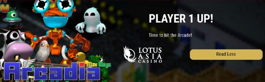 Lotus Asia Casino New Game Bonus