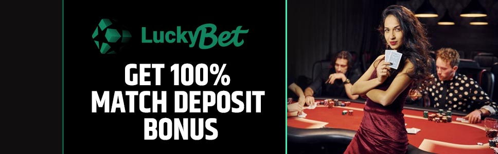 LuckyBet Casino Sign Up Bonus