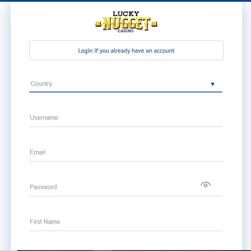 Lucky Nugget Casino Sign Up