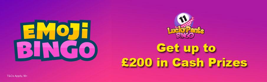 Lucky Pants Emoji Bingo Promotion