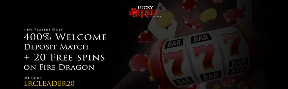 Lucky Red Casino Welcome Bonus