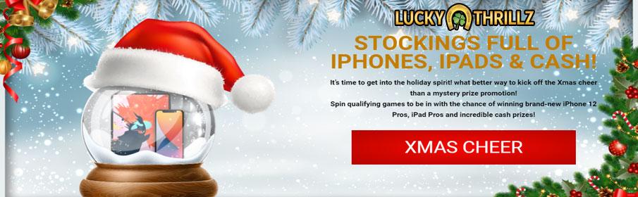 Lucky Thrillz Casino Christmas Bonuses – Get Exclusive Bonuses