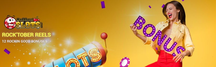 Mad About Slots Casino Monthly Promotion