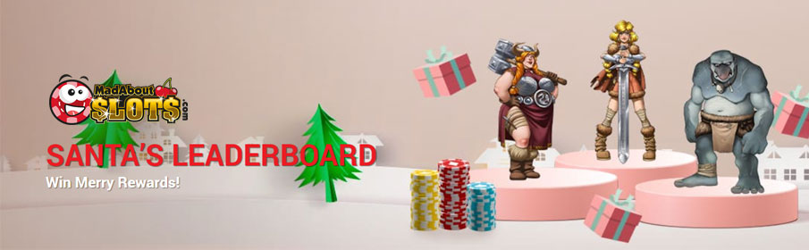 Mad About Slots Casino Christmas Bonus – $700 in Cash Prizes