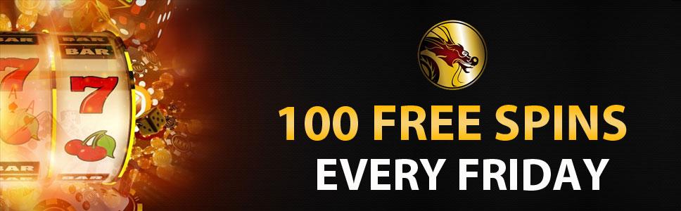 Mandarin Palace Casino 100 Free Spins Bonus Every Friday