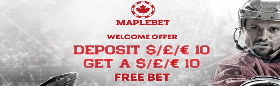 Maple Bet Casino Sign Up Bonus
