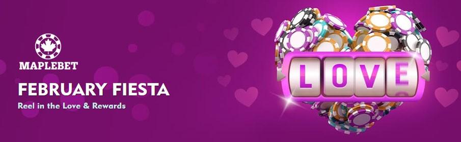 Maple Bet Casino February Fiesta Bonus