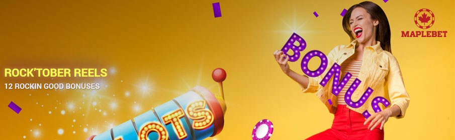 Maple Bet Casino Monthly Bonus