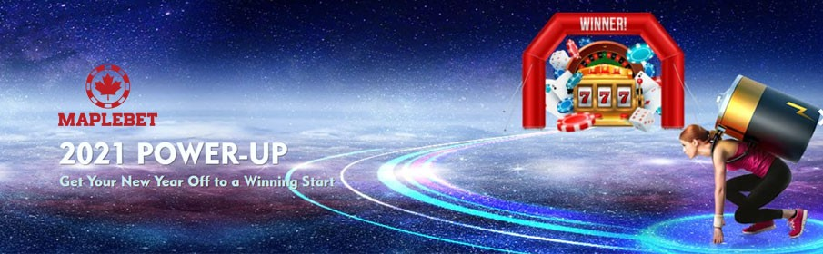 €500 Bonus & Free Spins Via Maple Bet Casino Power up 2021 Promotion