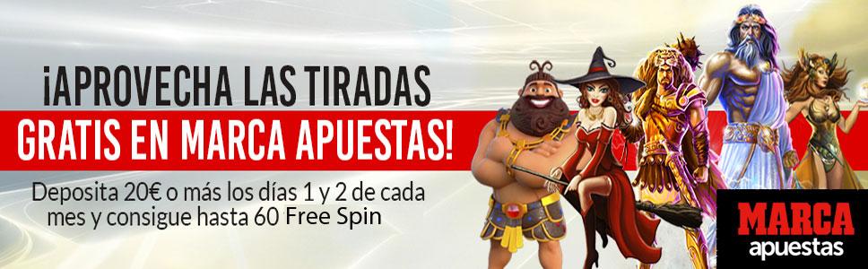 MARCA Apuestas Casino Monthly Bonus