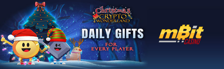 Christmas Crypto Wonderland Promotion at mBit Casino