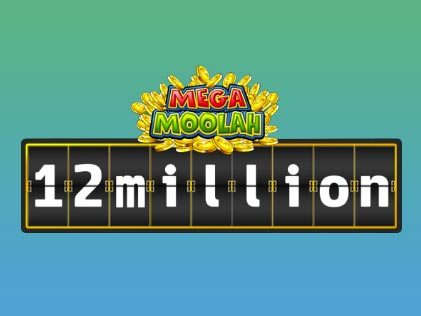 Mega Moolah Online Slots Machine by Microgaming hits a Jackpot worth 12 Million