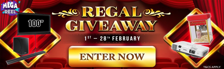 Mega Reel Casino Regal Giveaway Bonus