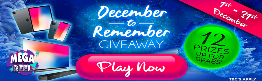 A December to Remember £9k Giveaway Promotion