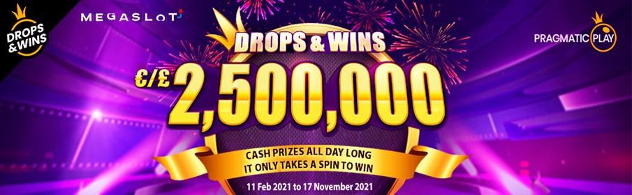 Mega Slots Casino Daily Drops Promotion