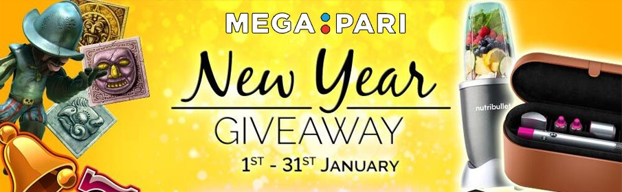 Megapari Casino New Year Giveaway
