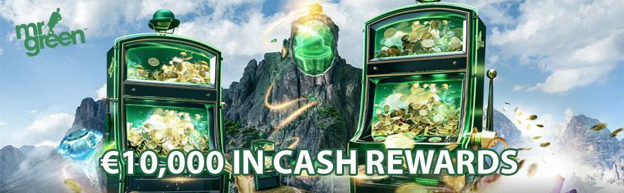 Mr Green Casino Cash Rewards
