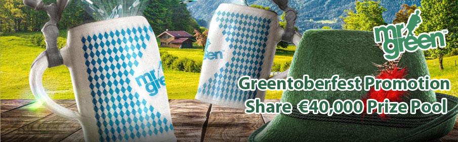 Mr Green Casino Greentoberfest Promotion