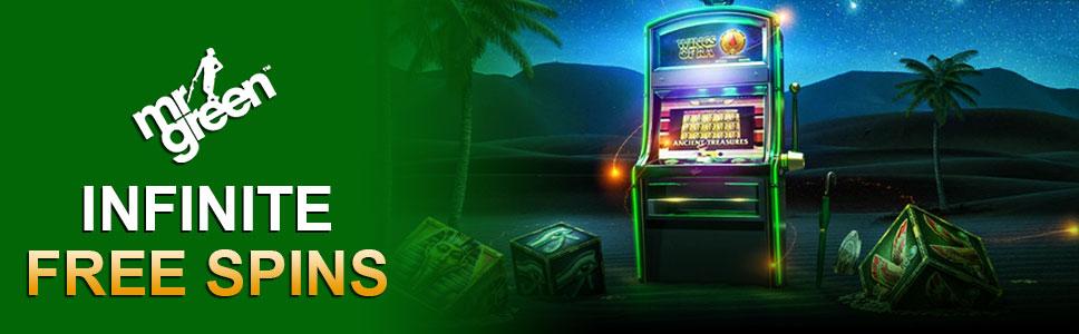Mr Green Casino 20 Free Spins