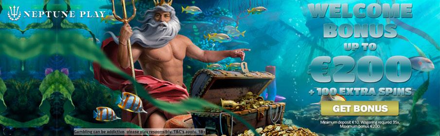 Neptune Play Casino Welcome Bonus