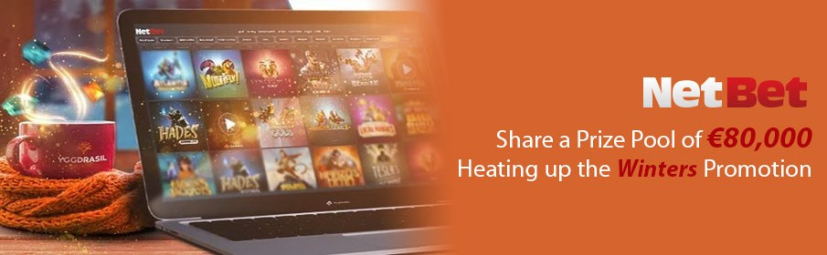 NetBet Casino Heating up the Winter Promotion