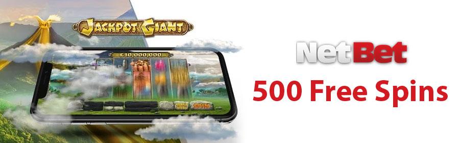 NetBet Casino Super Jackpot Offer