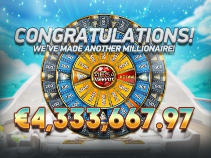 Betsson Player Drops €4.3 Million Jackpot on NetEnt's Mega Fortune Dreams Slot