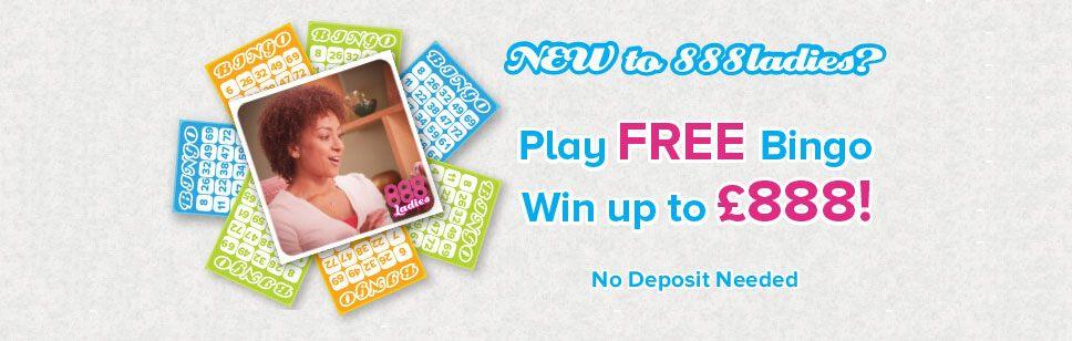 No Deposit Bonus Up To 888 At 888 Ladies Bingo