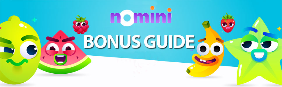 Nomini Casino Bonus Promotion Codes