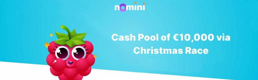Cash Pool of €10,000 via Christmas Race