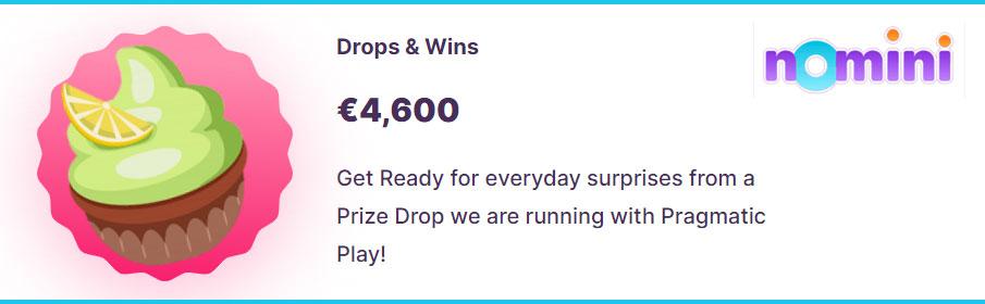 Nomini Casino Drops & Wins Promotion