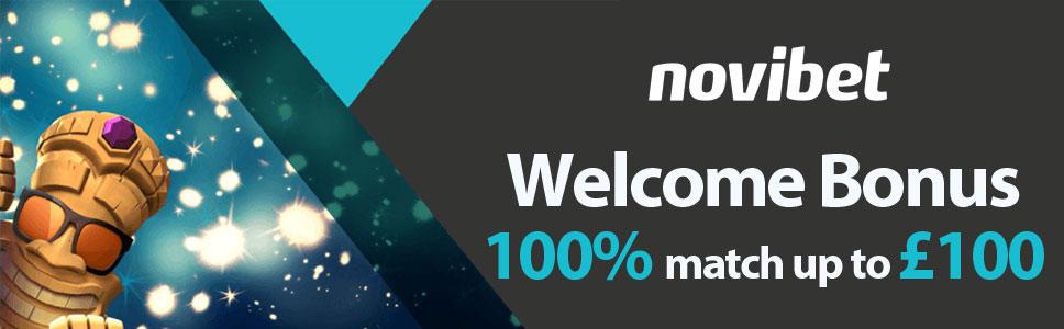 Novibet Casino Welcome Bonus