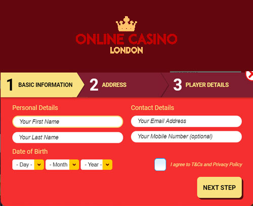 Online Casino London Sign Up