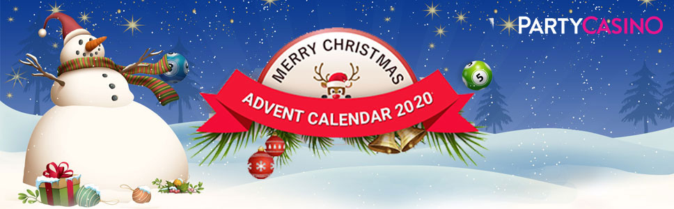 Party Casino Christmas Advent Calendar Promotion