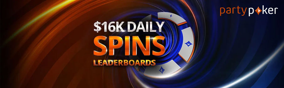 Party Poker Daily Spins Leaderboard Promotion