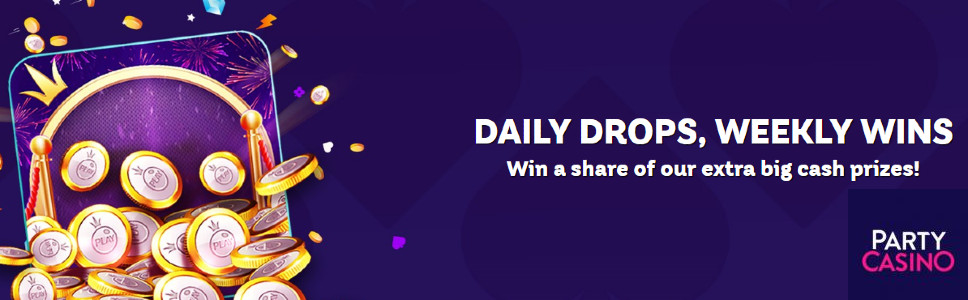 Party Casino Daily Drops Wins