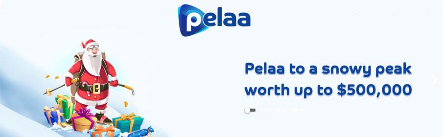 Prize Pool of $500,000 via Christmas Promotion at Pelaa Casino