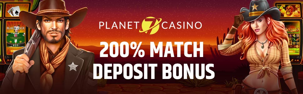 Planet7 Casino Welcome Bonus