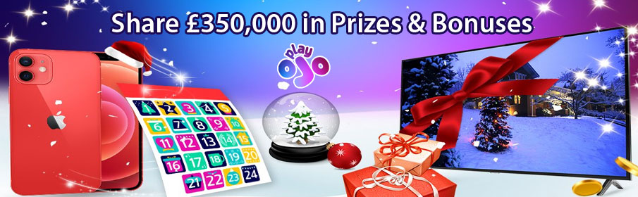 December Christmas Promotions at Play OJO Bingo