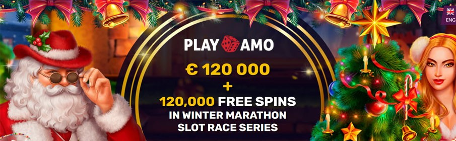 Cash Pool of €120,000 & 120,000 Free Spins on 'Majestic King - Christmas